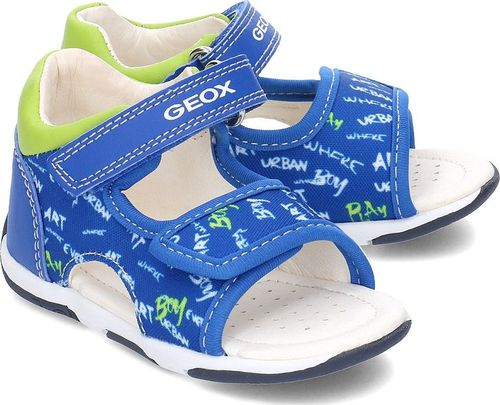 Geox Geox Baby Tapuz - Sandały Dziecięce - B920XA 0AW54 C4344 21