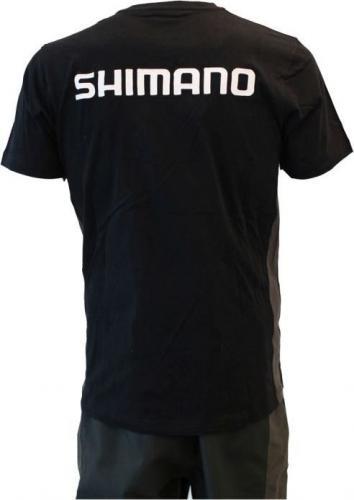 Shimano Koszulka czarna r. M (SHSHIRT18BLM)