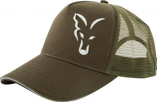 FOX Green/Silver Trucker Cap (CPR995)