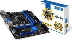 Płyta główna MSI B85M-G43 Intel B85 LGA 1150 mATX  - (B85M-G43)