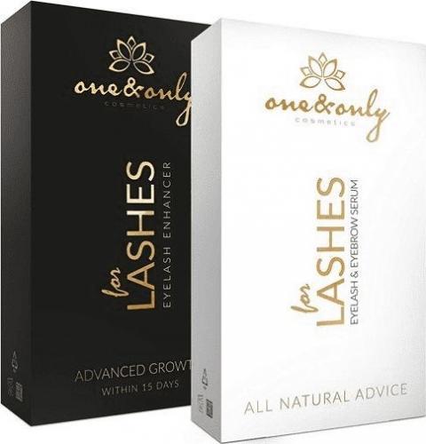One&Only Odżywka do rzęs Lashes Enhancer&Serum Set