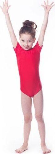 Shepa Kostium gimnastyczny L-902 czerwony r. 134