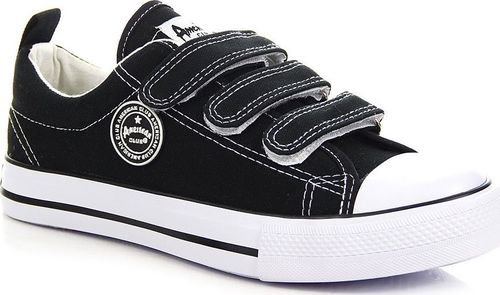 American Club Buty dziecięce AM67A czarne r. 38