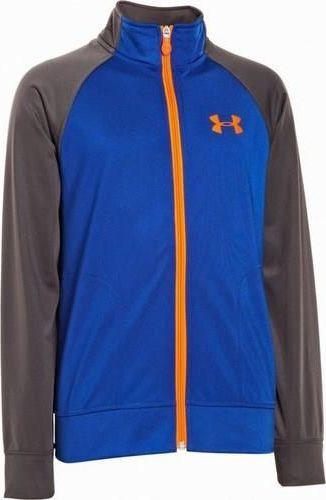 Under Armour Bluza UA Boys Brawler II Zip Jacket niebieski XL uniwersalny