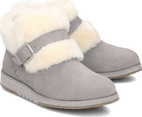EMU Australia Buty damskie Oxley Fur Cuff szare r. 36 (W11698)