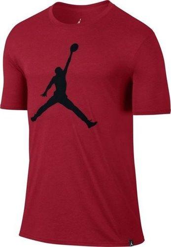 Jordan  Koszulka męska Iconic Jumpman Logo czerwona r. XXL (834473-687)