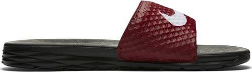 Nike Klapki męskie Benassi Solarsoft Slide 2 czarno-czerwone r. 41 (705474-602)