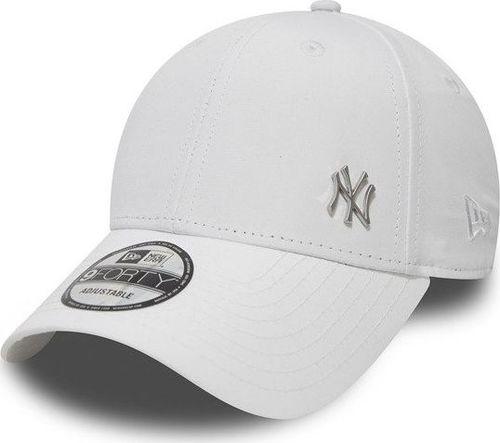5abf24efd96470 New Era Czapka 9Forty Basic Logo MLB Flawless biała r. uniwersalny  (11209938)