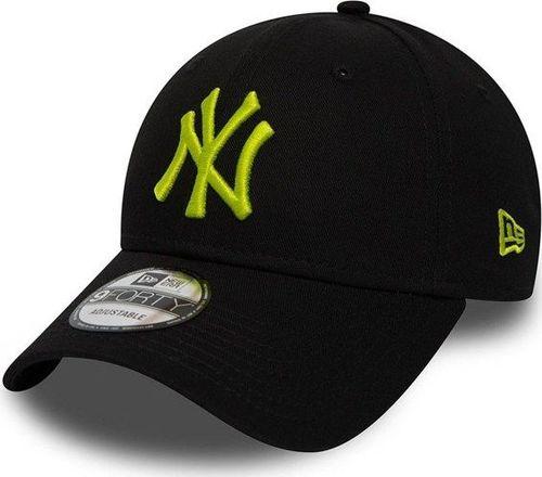 4d97fc2367b8ed New Era Czapka New York Yankees Essential 9Forty Lime Green r. uniwersalny  (11871476)