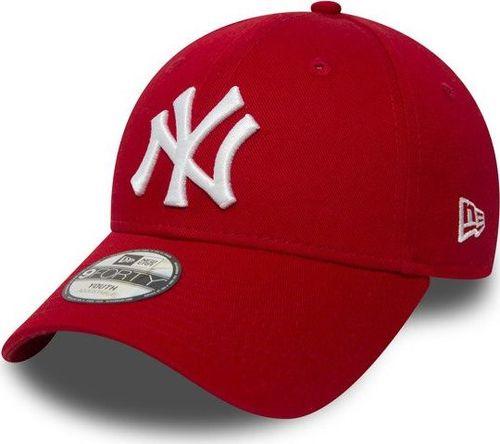 dddc6689f0deb4 New Era Czapka 9Forty NY Yankees Essential Kids bordowa r. uniwersalna  (10877282)