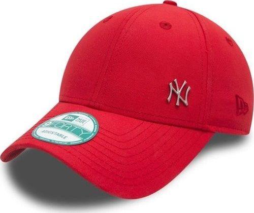 5427810b38e892 New Era Czapka 9Forty Basic Logo MLB Flawless czerwona r. uniwersalny  (11198847)