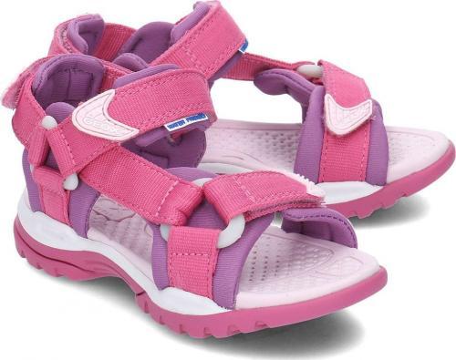 Geox Sandały dziecięce Junior Borealis różowo-fioletowe r. 31 (J720WA01511C8315)