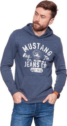 Mustang Bluza męska Hoody niebieska r. XXL (1007642 5370)