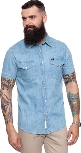 Lee LEE WESTERN SHIRT BLUE BOOK L