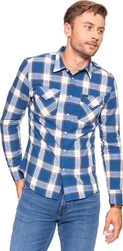 Lee LEE LEE WESTERN SHIRT WASHED BLUE L644JWLR S