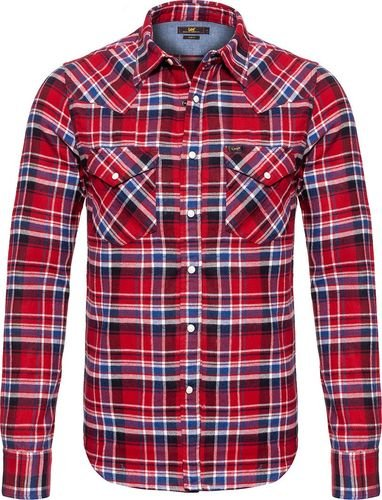 Lee LEE WESTERN SHIRT RED RUNNER L643CTDJ S