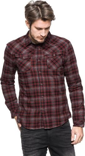 Tom Tailor TOM TAILOR HEAVY FLANNEL SHIRT 2030672.62.12 COL. 2999 XXL