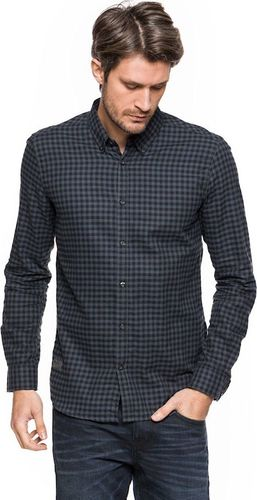 Tom Tailor TOM TAILOR FLANNEL CHECK SHIRT FITTED 20307222510 COL.2975 S