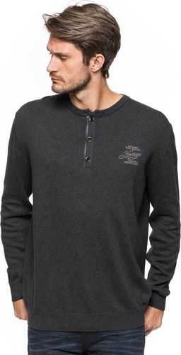 Tom Tailor TOM TAILOR HENLEY WITH RIB DETAILS 3018989.00.10 COL. 2572 XXL