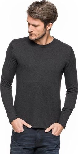 Tom Tailor TOM TAILOR CASUAL CREW-NECK SWEATER BLACK GREY MELANGE 3020858.00.10 COL. 2572 XXL