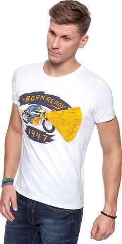 Wrangler Koszulka męska S/S/ Emo Graphic Tee White r. XL (W7A60EN12)