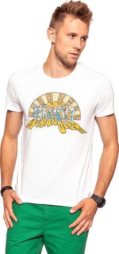Wrangler Koszulka męska Luke Tee Offwhite r. XXL (W7A78GA02)