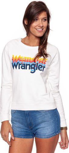 Wrangler WRANGLER KABEL SWEAT OFFWHITE W6042HP02 XL