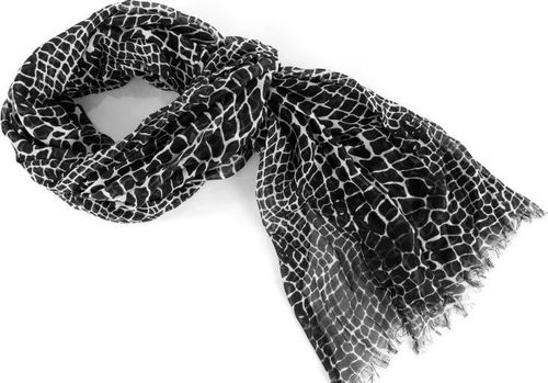Lee LEE ULTIMATE SCARF BLACK LW351801 ONE SIZE