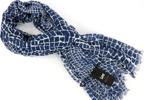 Lee LEE ULTIMATE SCARF MEDIEVAL BLUE LW351813 ONE SIZE