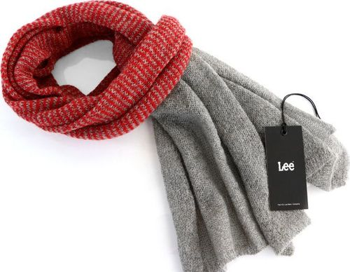 Lee LEE MOHAIR SCARF LAVA RED LD0734AF ONE SIZE