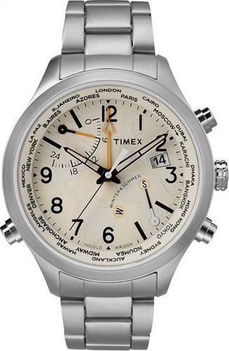 Zegarek Timex męski TW2R43400 IQ Traveller Series World Time