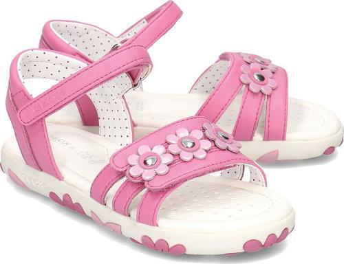 Geox Sandały dziecięce Junior Hahiti różowe r. 33 (J928ZD 000BC C8002)