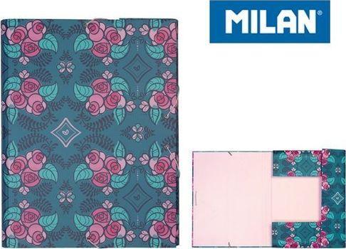 Milan Teczka A4 z gumką Modernist