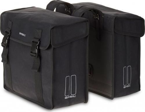 BASIL Sakwa miejska Kavan Double Bag 45L czarna