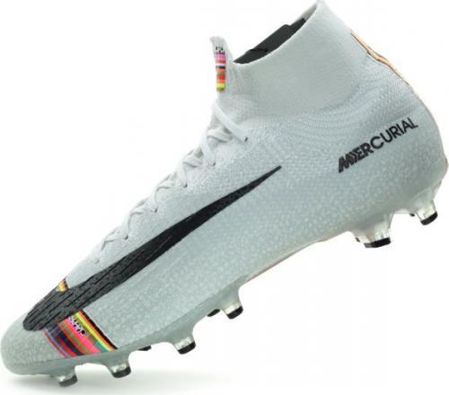 deeda12c3576d Nike Buty piłkarskie Mercurial Superfly 6 Elite Ag Pro białe r. 42 1/2