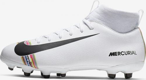 Nike Buty piłkarskie Jr Mercurial Superfly 6 Academy Gs CR7 białe r. 38 1/2 (AJ3111 109)