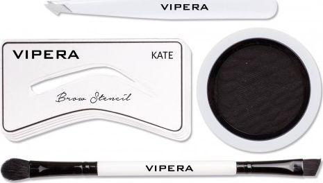 Vipera Zestaw Celebrity Eyebrow Definer Kit 07 Tunnel 4.5g