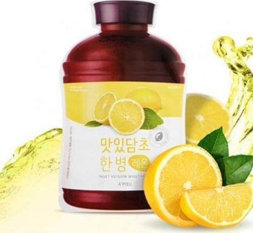Apieu Maseczka Fruit Vinegar Sheet Mask Lemon 25g
