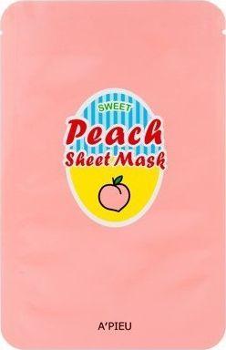 Apieu Maseczka do twarzy Peach Sheet Mask 23g