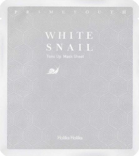 Holika Holika Maseczka do twarzy Prime Youth White Snail Tone-up Mask Sheet 30g