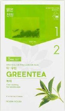 Holika Holika Tea Brewed Mask Sheet Green Tea 27ml