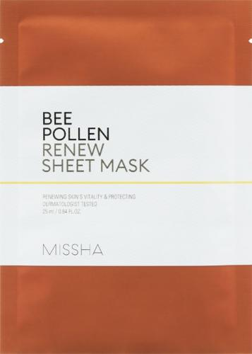 Missha Maseczka do twarzy Bee Pollen Renew Sheet Mask 25ml