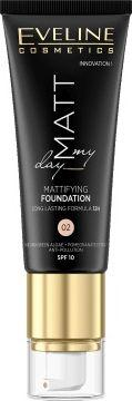 Eveline Podkład do twarzy Matt My Day Mattifying Foundation 02 Natural 40ml