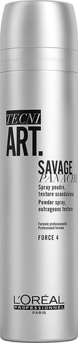 L'Oreal Paris L'OREAL PROFESSIONNEL_Tecni Art Savage Panache Powder Spray Outrageous Texture teksturyzujący puder w spray'u nadający objętość włosom Force 4 250ml