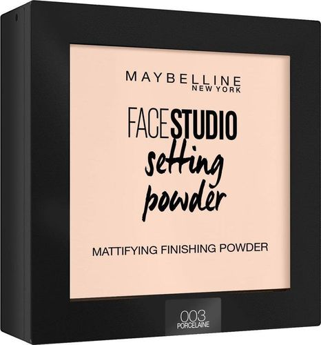 Maybelline  Puder do twarzy Face Studio Setting Powder 003 Porcelaine 9g
