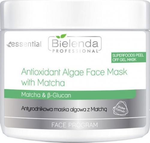 Bielenda Maseczka do twarzy Super Foods Face Algae Mask With Matcha 18g