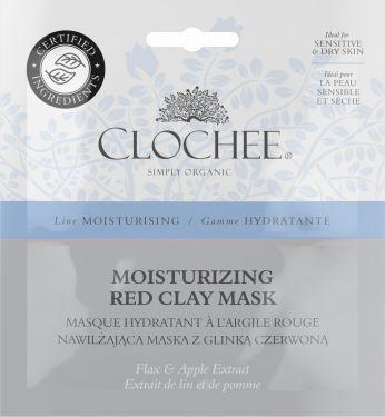 Clochee Maseczka do twarzy Moisturising Red Clay Mask 2x6ml