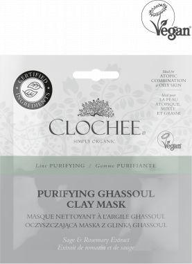 Clochee Maseczka do twarzy Purifying Ghassoul Clay Mask 2x6ml