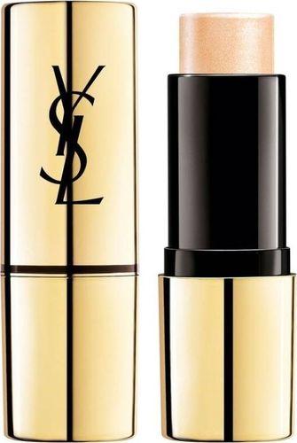 YVES SAINT LAURENT YVES SAINT LAURENT_Touche Eclat Shimmer Stick Illuminating Highlighter kremowy rozświetlacz w sztyfcie 1 Light Gold 9g