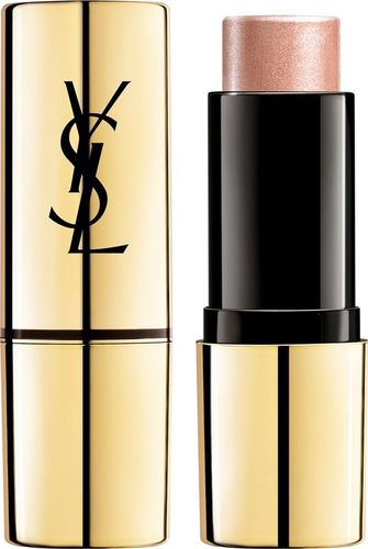 YVES SAINT LAURENT YVES SAINT LAURENT_Touche Eclat Shimmer Stick Illuminating Highlighter kremowy rozświetlacz w sztyfcie 3 Rose Gold 9g